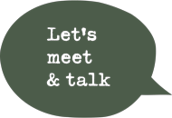 Let's meet & talk Logotyp
